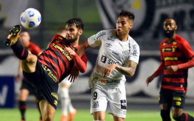 Com atuação segura, Sport empata com o Santos na Vila Belmiro; pontuou pela 2ª vez