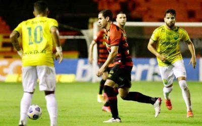 Com futebol horroroso, Sport empata com o Cuiabá na Ilha. E o tropeço foi do Cuiabá