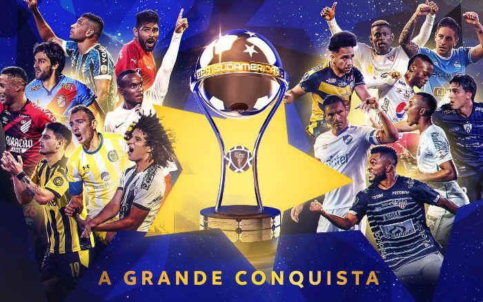 O mata-mata da Copa Sul-Americana de 2021, com 4 brasileiros e clássico uruguaio