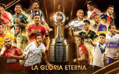 O mata-mata da Taça Libertadores de 2021, com 11 campeões e chance de clássico