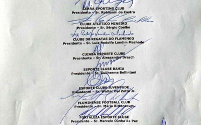 Clubes anunciam a liga nacional com 19 assinaturas da Série A na ata. Faltou o Sport…