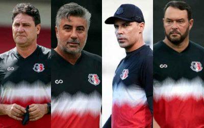 Análise   Com Roberto Fernandes, nova gestão do Santa vai para o 4º técnico em 4 meses