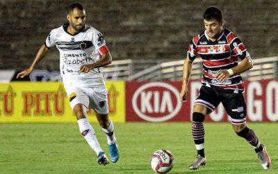 Santa perde do Botafogo na Paraíba e termina o 1º turno sem vitória; lanterna geral