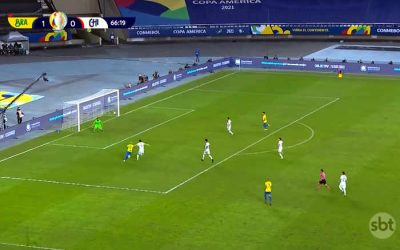 TV   Audiência de Brasil x Chile foi a menor da história da Seleção na Copa América; 1 dígito