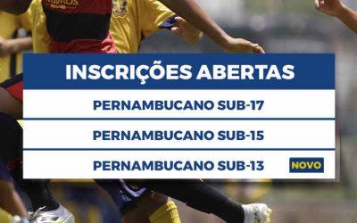 FPF cria o 4º torneio de base do Pernambucano. Júnior, Juvenil, Infantil… e Mirim