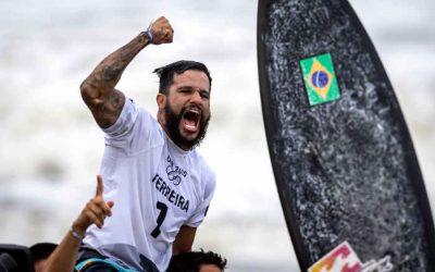 De Baía Formosa (RN), o 1º campeão olímpico na história do Surfe, lá nas ondas do Japão
