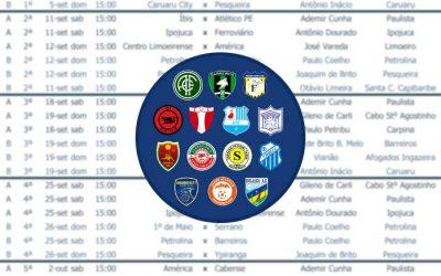 Com 60 jogos, a tabela da Série A2 do Pernambucano tem horário único: 15h