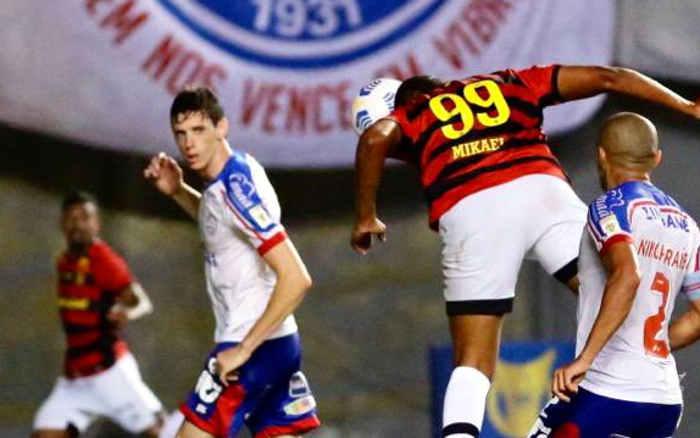 Remendado, o Sport vence o Bahia em Salvador com gol no fim e sobe na Série A