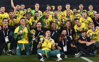Na prorrogação, Brasil vence a Espanha e fatura o bicampeonato olímpico no futebol
