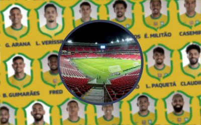 A lista de Tite com os 25 convocados para Brasil x Peru na Arena PE; Neymar e olímpicos