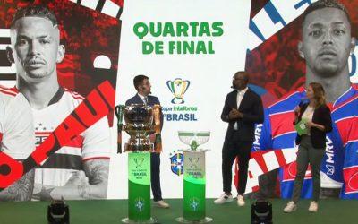 As quartas de final da Copa do Brasil de 2021, com um nordestino; vale R$ 7,3 milhões