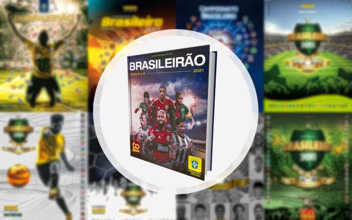Figurinhas | A capa do álbum do Brasileirão 2021, a 6ª edição oficial; 10 nordestinos