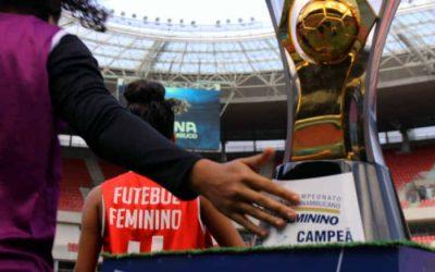 A tabela do PE Feminino de 2021, com apenas 23 jogos; final na Arena e vaga no BR