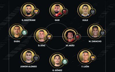 """Semi da Libertadores 2021 com 3 brasileiros: Fla, Galo e Verdão. E um """"intruso"""" do Equador"""