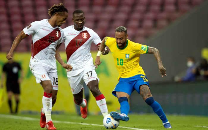 Na Arena PE, Brasil vence o Peru, segue 100% nas Eliminatórias e Neymar amplia marca