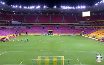 TV   As audiências de Brasil x Peru na Arena Pernambuco; Recife em 5º entre 15 metrópoles