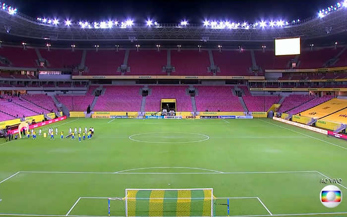 TV | As audiências de Brasil x Peru na Arena Pernambuco; Recife em 5º entre 15 metrópoles