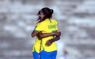 Após 5 anos, a Seleção Feminina volta ao NE, vence a Argentina e segue 100% na região
