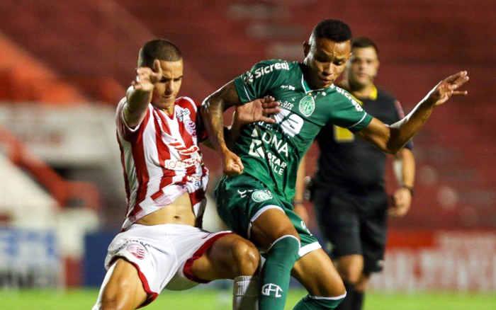 Náutico empata com o Guarani e chega a 5 jogos seguidos sem vitória nos Aflitos