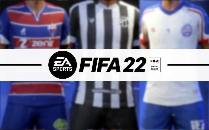 Game   Os níveis dos 18 clubes brasileiros licenciados no Fifa 22, com 3 do Nordeste
