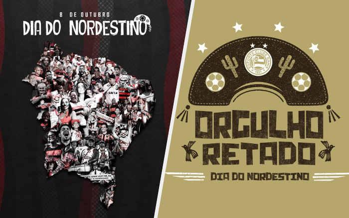 As mensagens dos clubes do NE no Dia do Nordestino em 2021; orgulho e resistência